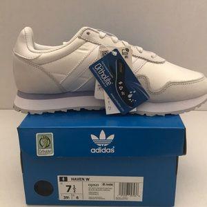 adidas Shoes - ADIDAS ORIGINALS HAVEN W (WHITE / LIGHT GREY/ GOLD